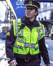 Mark Wahlberg Patriot's Day Signed 8X10 Photo Autographed BAS #B51384