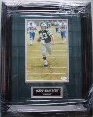 Mark Wahlberg Philadelphia Eagles Invinceable Hand Signed / Autographed 8 x 10 Photo - Custom Framed - JSA
