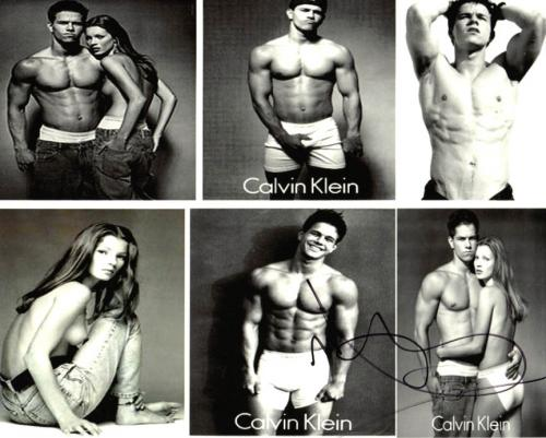 Mark Wahlberg Sexy CK Autographed Signed 8x10 Photo UACC RD AFTAL