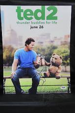 Mark Wahlberg signed 11x14 autograph photo Ted 2 PSA AA91061