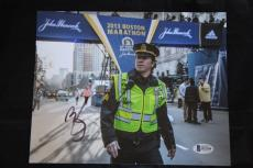 Mark Wahlberg signed 8x10 autographed photo Patriots Day Beckett B21146