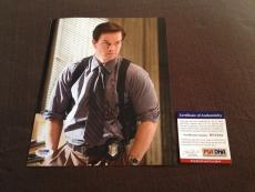 Mark Wahlberg Signed 8x10 Photograph PSA DNA RARE The Departed Marky Mark