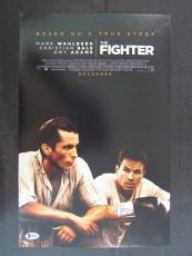 Mark Wahlberg Signed Auto Autograph 11x17 The Fighter Photo Beckett BAS B86953