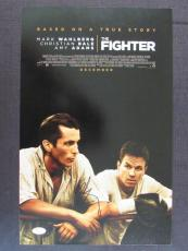 Mark Wahlberg Signed Auto Autograph 11x17 The Fighter Photo JSA T00789
