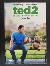 Mark Wahlberg Signed Auto Autograph 12x18 Ted 2 Photo JSA T00792