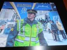 MARK WAHLBERG SIGNED AUTOGRAPH 8x10 PHOTO PATRIOTS DAY BOSTON MARATHON COA AUTO