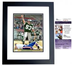 Mark Wahlberg Signed - Autographed INVINCIBLE 11x14 Photo BLACK CUSTOM FRAME as Vince Papale - JSA Certificate of Authenticity