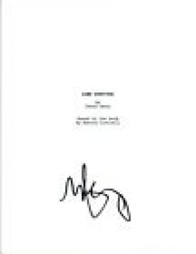 Mark Wahlberg Signed Autographed LONE SURVIVOR Full Movie Script COA VD
