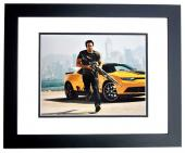 Mark Wahlberg Signed - Autographed TRANSFORMERS 11x14 inch Photo BLACK CUSTOM FRAME - Guaranteed to pass PSA/DNA or JSA