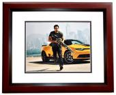 Mark Wahlberg Signed - Autographed TRANSFORMERS 11x14 inch Photo MAHOGANY CUSTOM FRAME - Guaranteed to pass PSA/DNA or JSA