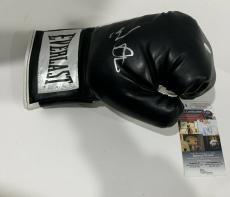 Mark Wahlberg Signed Black Everlast Boxing Glove The Fighter Autographed
