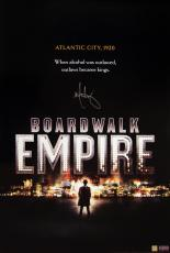 Mark Wahlberg Signed BOARDWALK EMPIRE Poster