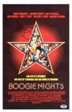 Mark Wahlberg Signed Boogie Nights Autographed 11x17 Poster PSA/DNA #Y89277