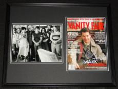 Mark Wahlberg Signed Framed 16x20 Magazine Cover & Boogie Nights Photo Set JSA