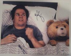 MARK WAHLBERG Signed TED 11x14 PHOTO with PSA COA