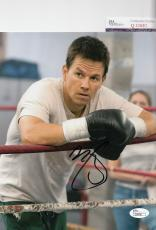 Mark Wahlberg signed *The Fighter* autographed movie 8x10 photo JSA COA Q30681
