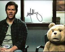 Mark Wahlberg Ted Signed 8X10 Photo Autographed PSA/DNA #AA83556