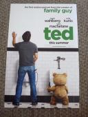 Mark Wahlberg Ted Signed Autographed 12X18 Movie Poster Photo