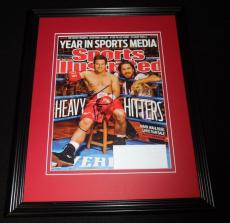 Mark Wahlberg The Fighter Signed Framed Full 2010 Sports Illustrated Magazine