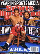 Mark Wahlberg The Fighter Signed Full 2010 Sports Illustrated Magazine No Label