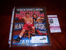 Mark Wahlberg The Fighter,invincible,actor Jsa/coa Signed Sports Illustrated