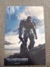 Mark Wahlberg Transformers 2017 Signed Autographed 12X18 Movie Poster Photo