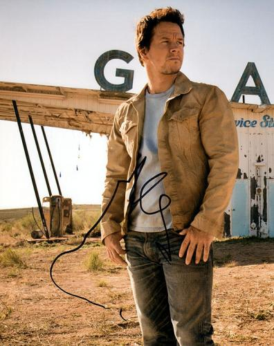 Mark Wahlberg Transformers Autographed Signed Photo RACC TS UACC RD AFTAL