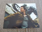 Mark Wahlberg Transformers Signed Autographed 11X14 Movie Photo
