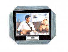 Mark Wahlberg/Seth Macfarlane Signed TED Picture Framed & Matted PSA/DNA Auto