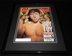 Marky Mark Wahlberg Framed ORIGINAL 1993 Entertainment Weekly Magazine Cover