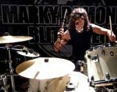 Marky Ramone Autographed 11x14 Drumming Poster Photo UACC RD AFTAL COA