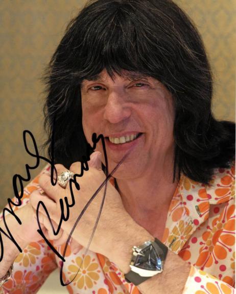 Marky Ramone Autographed 8x10 The Ramones Photo UACC RD AFTAL COA