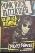Marky Ramone Signed Book - PSA DNA