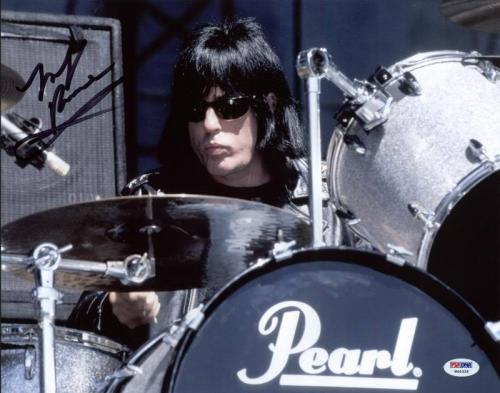 Marky Ramone The Ramones Signed 11X14 Photo PSA/DNA #W46335
