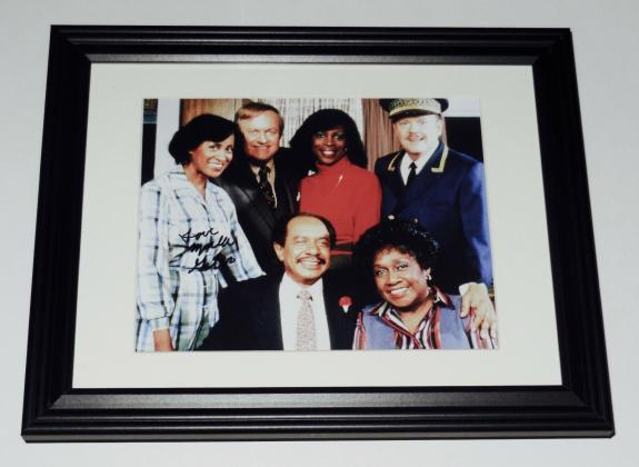 Marla Gibbs Autographed 8x10 Color Photo (framed & Matted) - The Jeffersons!