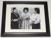Marla Gibbs Autographed 8x10 Photo (framed & Matted) - The Jeffersons!