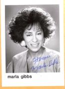 Marla Gibbs-signed photo-27 a