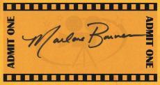 Marlane Barnes Signed Index Card Twilight