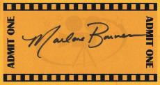 Marlane Barnes Signed Index Card Twilight