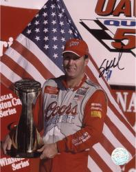 Sterling Marlin Autographed 8'' x 10'' Coors Light 2002 Winston Cup Photograph