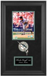 "Miami Marlins Deluxe 8"" x 10"" Team Logo Frame"