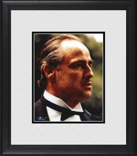 "Marlon Brando The Godfather Framed 8"" x 10"" Close Up Photograph"