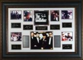 Marlon Brando unsigned The Godfather 27x39 Photo Engraved Signature Series Leather Framed (entertainment)