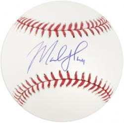 Marlon Byrd Autographed Baseball - Mounted Memories