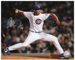 "Carlos Marmol Chicago Cubs Autographed 8"" x 10"" Horizontal Photograph"