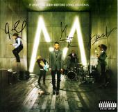 Maroon 5 - Adam Levine, James Valentine, Matt Flynn, Jesse Carmichael, and Mickey Madden Signed - Autographed Album Cover - It Won't Be Soon Before Long - Guaranteed to pass PSA or JSA - RARE Complete Group