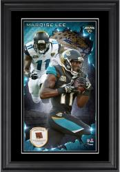 Marqise Lee Jacksonville Jaguars 10'' x 18'' Vertical Framed Autograph with Piece of Game-Used Football - Limited Edition of 250