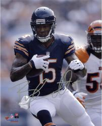 "Brandon Marshall Chicago Bears Autographed 8"" x 10"" vs. Cincinnati Bengals Photograph"