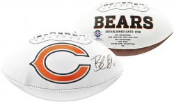 Brandon Marshall Chicago Bears Autographed White Panel Football