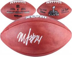 Marshawn Lynch Seattle Seahawks Super Bowl XLVIII Champions Autographed Pro Football